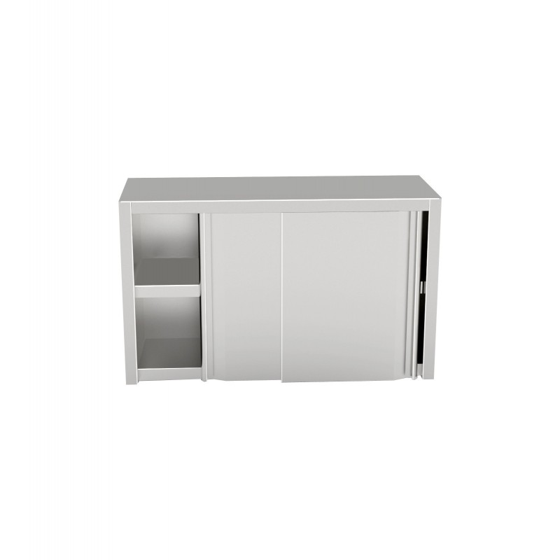 Wall Cabinet With Sliding Doors 1600x400