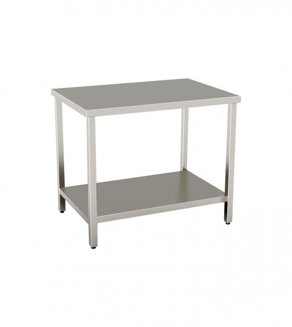 Tavolo 1600X700 con ripiano inferiore